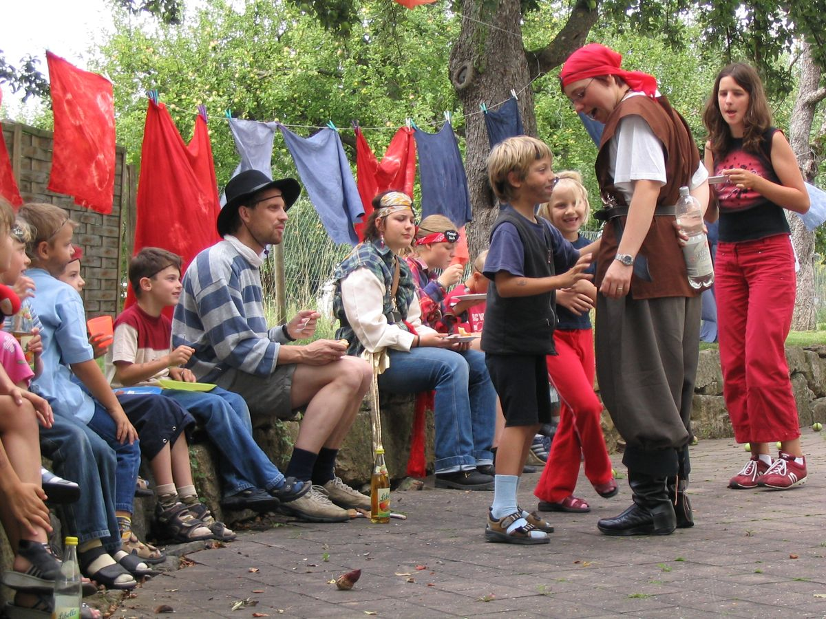 23.7. Kinderkirch Piratentag 2004